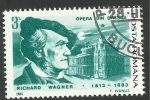 Stamps : Europe : Romania :  Richard Wagner