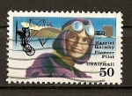 Stamps America - United States -  Pioneras de la Aviacion - Harriet Quimby.