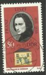 Stamps Germany -  Franz Liszt