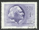 Stamps Hungary -  Franz Liszt