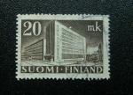 Stamps Finland -  Oficina Postal de Helsinki
