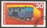 Sellos de Europa - Bulgaria -  3405 - 125 anivº de los ferrocarriles búlgaros, vagón de pasajeros