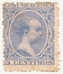 Stamps of the world : Spain :  ALFONSO XIII. TIPO PELÓN