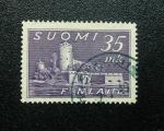 Stamps Finland -  Castillo de Savonlinna