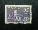 Sellos de Europa - Finlandia -  Castillo de Savonlinna