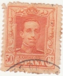 Stamps Spain -  ALFONSO XIII. TIPO