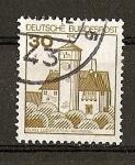 Sellos de Europa - Alemania -  Serie Basica - Castillos.