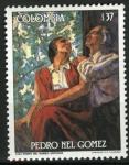 Sellos de America - Colombia -  Pintura