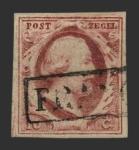Sellos de Europa - Holanda -  Guillermo III - 10 c.