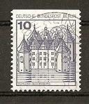 Sellos de Europa - Alemania -  Serie Basica - Castillos - Sello procedente de Carnet - Berlin.