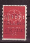 Stamps Netherlands -  serie europa