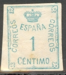 Stamps : Europe : Spain :  ESPAÑA 1920_291 CORONA Y CIFRA