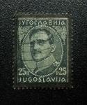 Stamps Yugoslavia -  Rey Alexander