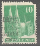 Stamps : Europe : Germany :  ALEMANIA_SCOTT 641a COLOGNE CATHEDRAL. $0.2