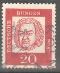 Stamps : Europe : Germany :  ALEMANIA_SCOTT 829 JOHANN SEBATIAN BACH. $0.2