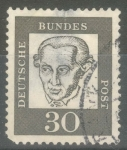 Stamps : Europe : Germany :  ALEMANIA_SCOTT 831 IMMANUEL KANT 30 PF