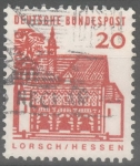 Stamps Germany -  ALEMANIA_SCOTT 905.02 PORTICO, LORSCH. $0.2