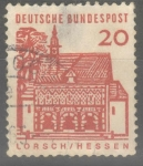 Stamps : Europe : Germany :  ALEMANIA_SCOTT 905.03 PORTICO, LORSCH. $0.2