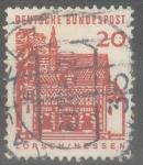 Stamps : Europe : Germany :  ALEMANIA_SCOTT 905.04 PORTICO, LORSCH. $0.2