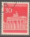 Stamps : Europe : Germany :  ALEMANIA_SCOTT 954 BRANDENBURG GATE. $0.2