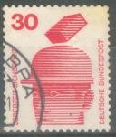 Sellos de Europa - Alemania -  ALEMANIA_SCOTT 1078.01 CASCOS DE SEGURIDAD EVITAR LESIONES. $0.2
