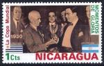 Stamps America - Nicaragua -  Copa Mundial de Futbol, de 1930