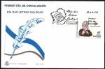 Stamps Europe - Spain -  Día das letras Galegas - Anxel Fole - Xunta de Galicia - SPD