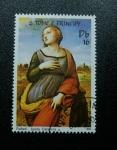 Stamps Africa - São Tomé and Príncipe -  Rafael: Santa Catalina