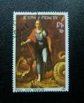 Stamps Africa - São Tomé and Príncipe -  Rafael: Santa Margarida