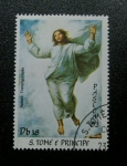 Stamps Africa - São Tomé and Príncipe -  Rafael: Ascencion
