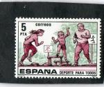 Sellos de Europa - España -  2516- DEPORTE PARA TODOS