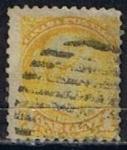 Stamps Canada -  Scott  35  Reina Victoria