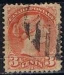 Stamps Canada -  Scott  37b  Reina Victoria (4)
