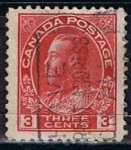 Stamps Canada -  Scott  109  Rey George V (7)