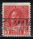 Sellos de America - Canadá -  Scott  109  Rey George V (8)