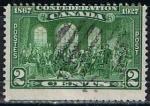 Sellos de America - Canadá -  Scott  142 Los Padres de la Confederacion  RESERVADO