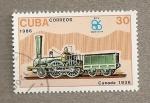 Stamps Cuba -  Locomotoras