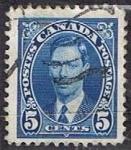 Stamps Canada -  Scott  235  George VI (8)