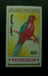 Sellos de Asia - Mongolia -  Ave.