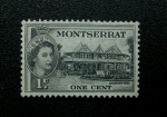 Sellos de Europa - Reino Unido -  Montserrat. Casa Goburnamental.