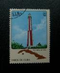 Sellos de America - Cuba -  Faros de Cuba.