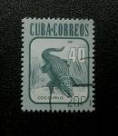 Stamps Cuba -  Cocodrilo.