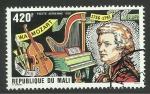 Stamps : Africa : Mali :  Mozart