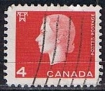 Stamps Canada -  Scott  404  Reina  Elizabeth II (4)