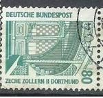 Sellos del Mundo : Europa : Alemania : Zeche Sollern II Dortmund