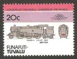 Stamps Oceania - Tuvalu -  locomotora británica