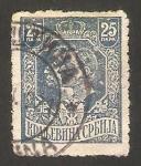 Stamps Europe - Serbia -  140 - Pierre I y el duque regente Alexandre