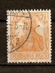 Stamps : Europe : Germany :  Imperio / Deutsches Reich./ Fondo Blanco.