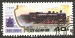 Sellos de Asia - Corea del norte -  2093 - locomotora a vapor