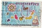 Sellos de Europa - España -  2623.- España Insular. Islas Canarias. Carta de Mateo Prunes 1563